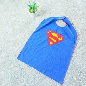Superman and Spiderman Reversible Cape